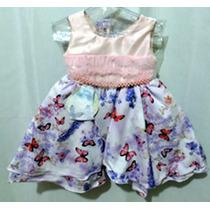 Vestido Infantil Festa - Batizado - Roupa Infantil Tamanho 2