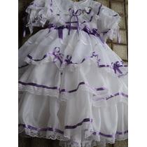 Vestido De Noiva Junino Já Enfeitado 0 À 6 Anos Luxuosos!