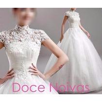 Vestido De Noiva Evangelica Novo Frete Grátis Por Encomenda