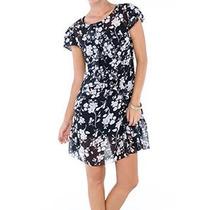 Vestido Preto&branco Leve E Transparente- Marca Belle & Bei