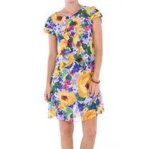 Vestido Belle & Bei Estampa Musseline Florida E Colorida