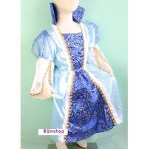 Fantasia Infantil Princesa Azul Cinderela
