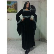 Vestido Medieval Gótico Pagão Célta Estilo Anna Boleyn
