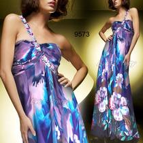 Vestido Importado Ever Pretty Em Chiffon Mod. 9573 No Brasil