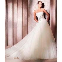 Vestido De Noiva Importado Novo E Pronta Entrega