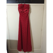 Vestido Tomara Que Caia Vermelho