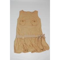Vestido Caramelo De Sarja - Fuzarka - Tam. 6