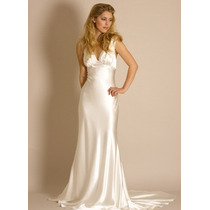 Vestido Estilo Grego Noiva, Madrinha Ou Debutante De Cetim