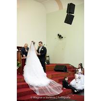 Lindo Vestido De Noiva Importado De Nova York!