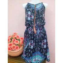 Kit 5 Vestidos Curtos Em Viscose R$ 154,90