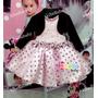 Vestido Infantil Jolie Com Bolero Tam: 1 Ao 4
