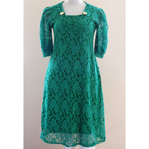 Vestido Renda Plus Size Moda Evangélica