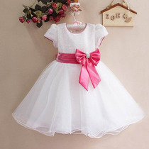 Vestido De Festa Infantil (casamento, Aniversário,daminha)