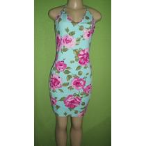 Vestido Frente Unica Estampa Floral Veste M
