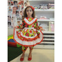 Vestidos Caipiras, Fantasia Festa Junina, Apenas R$ 79,90