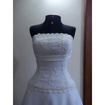 Vestido De Noiva Novo Tam 38à 48 E Tam Maiores Sob Med