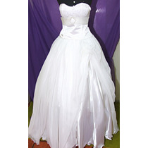 Vestido De Noiva Ou Debutante 3x1 - Novo - Frete Gratis