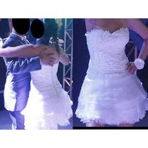 Vestido De Noiva Curto Balada - Frete Grátis!