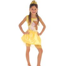 Fantasia Princesa Bela Bailarina Infantil - Envio Em 24hr