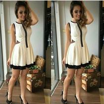 Vestido Feminino Dress De Jacquard Moda Verao