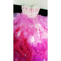 Vestido Debutante Um Grande + Um Curto + Jaqueta