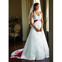 Vestido De Noiva - 40 42 44 - Pronta Entrega - Vn00002