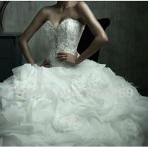 Vestido De Noiva Lindo !!! Otima Qualidade Pronta Entrega ..
