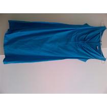 Vestido Viva Vida - Usado - Tamanho 40 - Azul