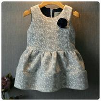 Vestido Infantil Inverno Frio
