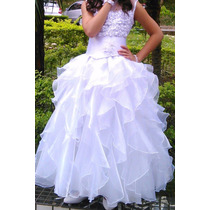 Vestido Branco, Primeira Comunhão, Dama De Honra Usado