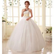 Vestido De Noiva Luxo Importado Pronta Entrega No Brasil
