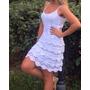 Vestido Feminino Tricot Crochê Renda Modelo2016 Frete Gratis