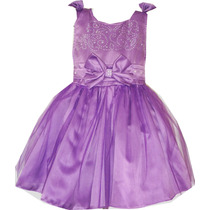 Vestido Princesa Sofia Ou Rapunzel Roxo, Lilás, Lindo!!!