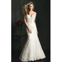 Vestido De Noiva Sexy Marfim Allure Bridal Original Importad