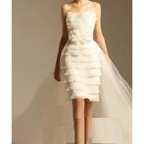 Vestido 2x1 De Noiva E De Baile - Manequim 40