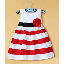 Vestido De Menina - Importado - Tam: 3t E 4t