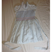 Lindo Vestido Casual Infantil Azul Moda Infantil Meninas