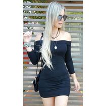 Vestido Curto Manga Longa Listrado Nicole Bahls Panicat