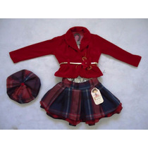 Conjunto Infantil Festa Luxo 98 - Bambina Oferta!