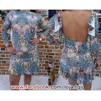 Oferta Vestido Manga Longa Costa Nua