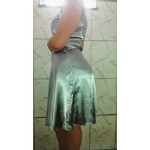001 Vestido Prata / Prateado