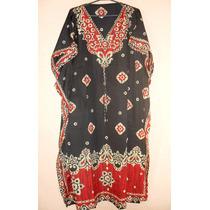 Vestido Kaftan Longo Importado 1a Qualidade = G\xg\xxg