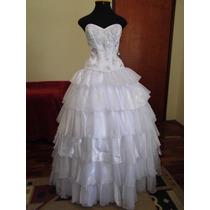 Vestido Noiva Seda Bordada Casamento