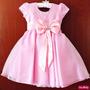 Vestido Infantil Festa Barbie Com Tiara Pronta Entrega