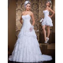 Vestido De Noiva 2 Em 1 Em Renda