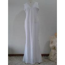 Promoção Vestido Noiva Sereia Renda Branco Rústica G Plus