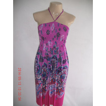 Lindo Vestido Estampado - Toque De Cor Tam: M
