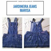 Jardineira Jeans Marisa