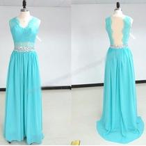 Vestido Azul Para Madrinhas- Nunca Usado
