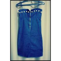 Vestido Feminino Jeans Vintage Retro Rock Gatos